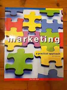 Marketing - A Practical Approach (5th edition) - Peter Rix Crows Nest North Sydney Area Preview