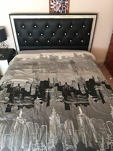 Leather Double Bed Camden South Camden Area Preview