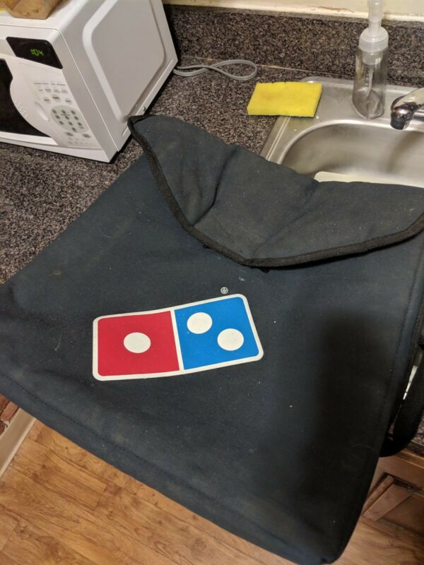 Large Dominos Heat Wave pizza hot Delivery Warm Insulated Thermal delivery bag