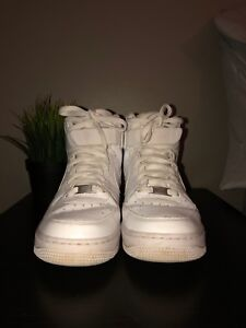 Size 8 All-White Air Force 1 High