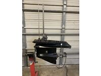 """USED 20"""" JOHNSON EVINRUDE OUTBOARD LOWER UNIT/GEARCASE OMC 150 175 HP 60° ENGINE"""