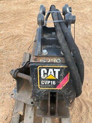 Cat Cvp16 Hydraulic Vibratory Plate Compactor Mini Excavator Attachment Bucket