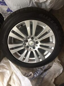 FS: Mercedes Benz W204 (C-Class) Winter Wheels and Tire Package
