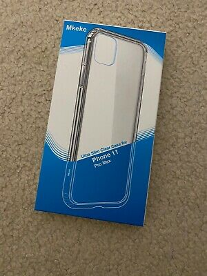 MKEKE IPhone Pro Max 11 Clear Phone Case