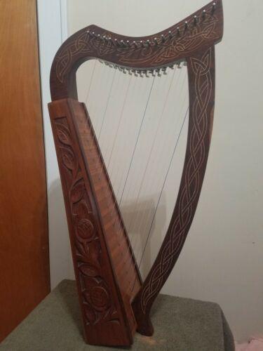 Celtic Harp - 19 string Lever Type - Walnut