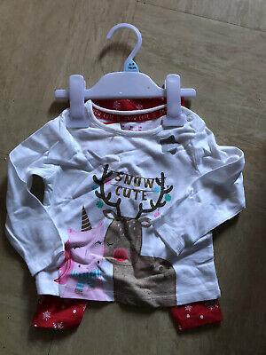 mas Pyjama New #free Post (Baby Girl Christmas Pyjamas)