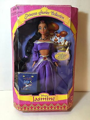 Disney Jasmine Princess Stories Collection 1997 Mint Doll-Some Damage to Box