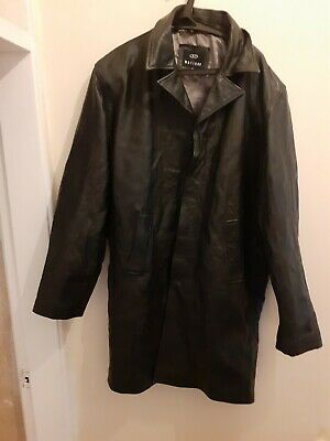 Matinee  Original vintage  100% Leather  Jacket   uk Size XL