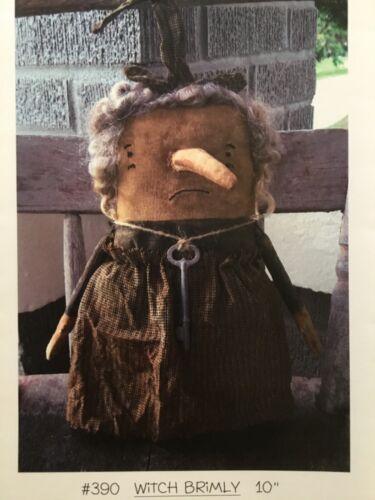 PATTERN Primitive Stumpy Halloween Witch Doll UNCUT OOP Chestnut Junction EASY!