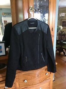 High end woman's moto style jacket.