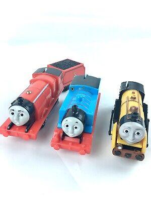Thomas & Friends Trackmaster 3 Motorized Trains Stephen Rocket, Thomas & James