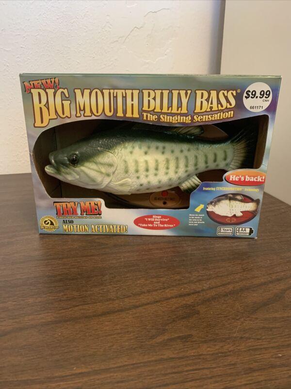 2004 Big Mouth Billy Bass Singing Fish