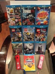 LOOKING FOR FACTORY SEALED NINTENDO WII U GAMES OR SYSTEMS