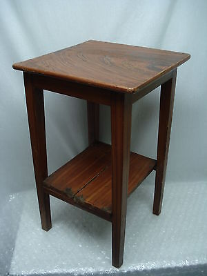 Alter Holz Beistelltisch Telefontisch Blumenhocker Blumenständer 50er (Ke.44)