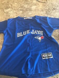 Blank women blue jays jersey
