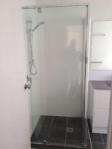 SEMI FRAMELESS PIVOT SHOWER SCREEN Bundall Gold Coast City Preview