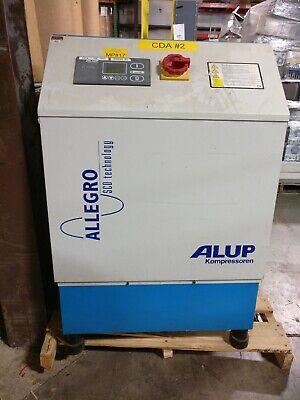 Alup Kompressoren Allegro Scd-20 Screw Compressor 20 Hp 75-190psi