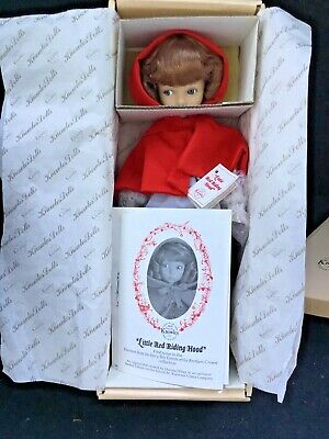 Artist Diana Effner Little Red Riding Hood Knowles Doll Company MIB PERFECT  (Little Artist Party)