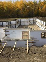 ICF BASEMENTS FOUNDATIONS AND CONCRETE FLATWORK