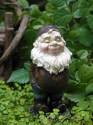 Miniature Dollhouse FAIRY GARDEN ~ Sleepy Gnome ...