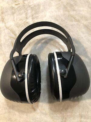 Peltor 3m Earmuffs Model X5a Color Black Gray