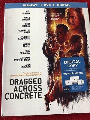 Dragged Across Concrete ( Brand New Blu-ray + DVD + Digital)