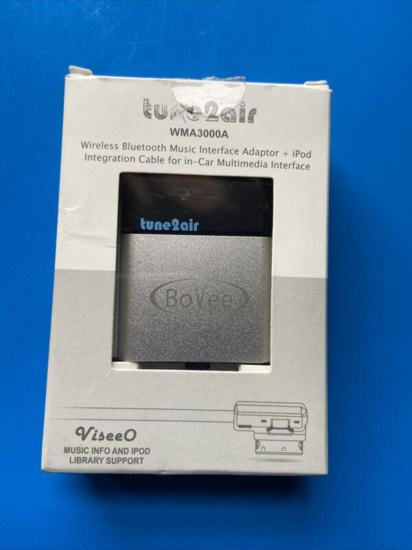 New Other BoVee tune2air WMA3000/A Wireless Bluetooth Adaptor AUDI, BMW/VW/MB