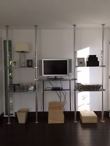 ALU ~ Autopole System ~ Storage & Shelving from 3 rooms