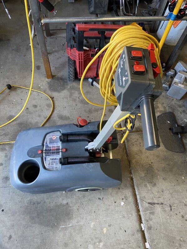 NaceCare  Walk Behind 16 Inch Electric Floor Scrubber 903921 TT516G- New