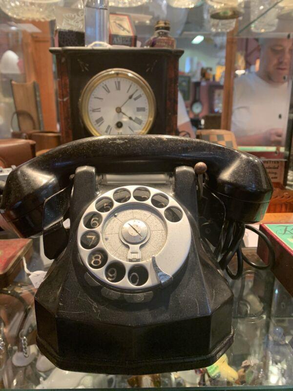 US Navy / Services - Black PMG Bakelite Phone
