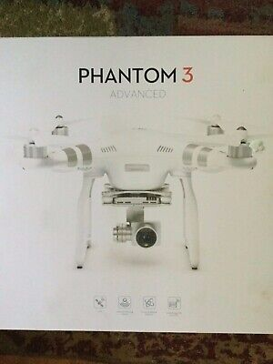 DJI Phantom 3 Advanced Drone - Snow-white