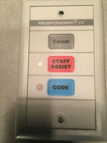 qty 5 Rauland-Borg NCDPB2 Responder IV staff assist switch