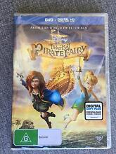Tinkerbell and The Pirate Fairy DVD New and Sealed Subiaco Subiaco Area Preview