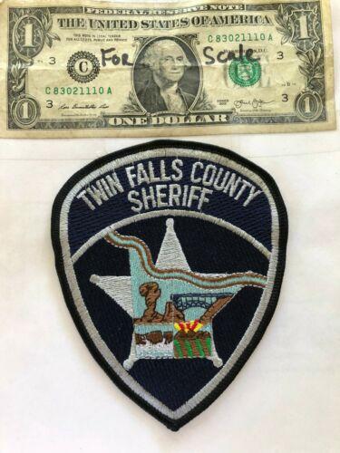 Twin Falls County Idaho Police Patch (Sheriff) Un-sewn in great shape