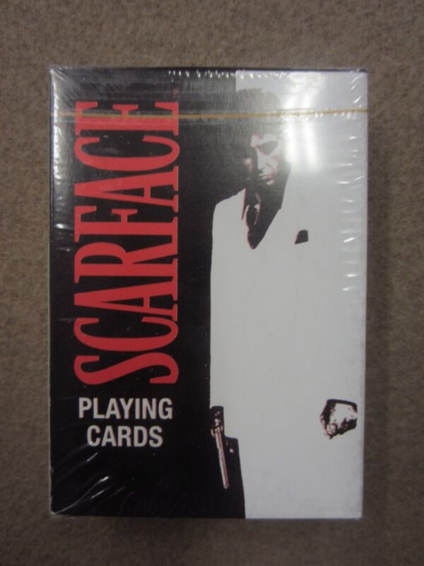 Scarface Tony Montana Playing Cards w/ Free Shipping