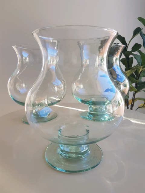 3 X Glass Vases Vases Bowls Gumtree Australia Tweed Heads