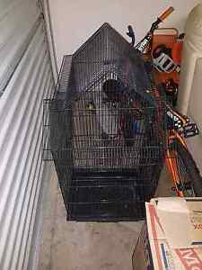 Large black bird cage Marsden Logan Area Preview