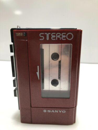 Sanyo M-4440 Stereo Cassette Player Vintage Walkman