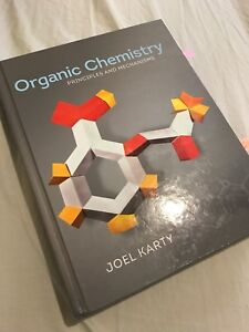 Organic Chemistry principles and mechanisms book & study guide.