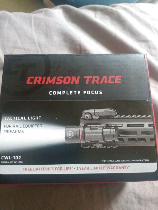 Crimson Trace Tactical Rifle Rail Mounted LED Light 500 Lumens CWL-102