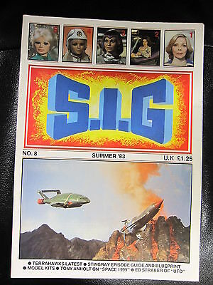S i G  Supermarionation is Go magazine # 8 Gerry Anderson