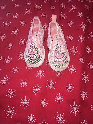 Authentic Yo Gabba Gabba Vans For Toddlers Size: 6](Yo Gabba Gabba Shoes)