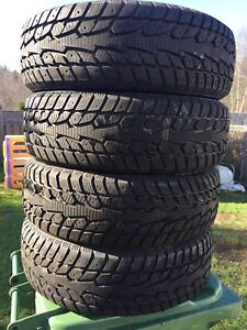 p205/65/16 inch Winter Tires / NEAR NEW / GOOD DEAL