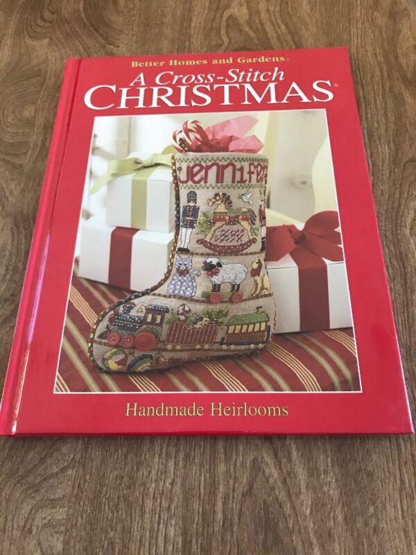 BH&G/A Cross-Stitch Christmas/Handmade Heirlooms/Hardcover