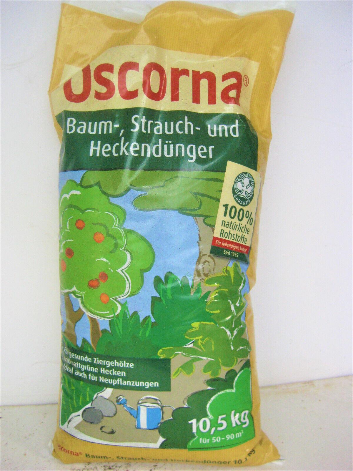 Oscorna Baum Strauch und Heckendünger Naturdünger Volldünger 10,5Kg