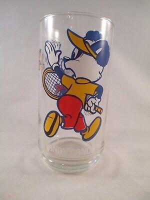 Andy Panda & Miranda ~ Tennis ~ Walter Lantz 5 5/8 inch tall Glass