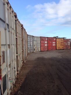 Storage shipping containers truck parking Lonsdale Morphett Vale Area Preview