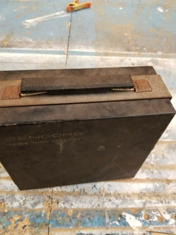 Vintage Sencore Mighty Mite VI TC154 Tube Tester w/ Set-Up Book ~ VERY NICE!