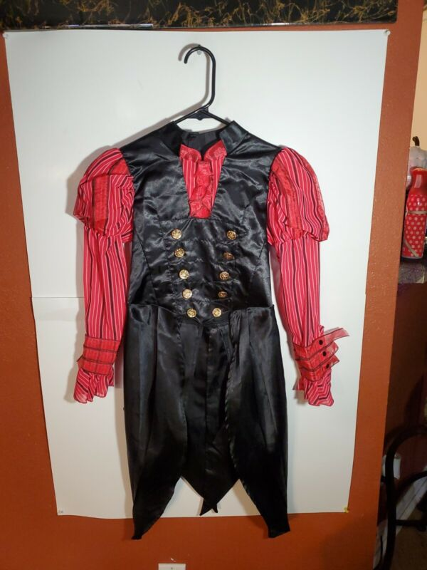 Disney Store Alice Through The Looking Glass Costume Alice Size 9/10 Top Only