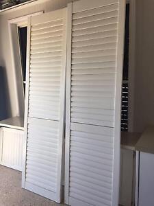 Set louvre doors Noosaville Noosa Area Preview